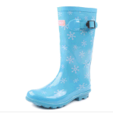 New Style Ladies Fashion Rubber Rain Boot for Woman (RT-0103)