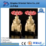 Cw617n Forged Brass Bronze Water Gate Valve 3inch Wheel Handle