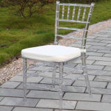 Ice Clear Banquet Resin Tiffany Chair for Weddings
