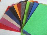 2016 New Design Colorful 100% Polyester Plain Exhibition Carpet