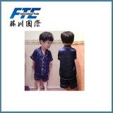 Children′s Sleep Suit Silk Bathrobes Set
