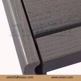 Outdoor Waterproof Wood-Plastic Composite Solid Decking Floor