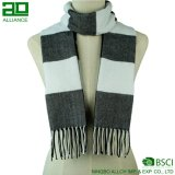 Classical Check Men Winter Scarf