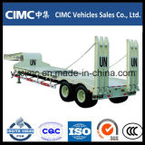 Hot Sale Cimc 2 Axle Low Bed Trailer 40 Ton