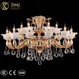 Luxury Golden Die Casting Crystal Chandelier Light