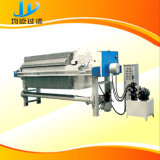 High Pressure Hydraulic PP Chamber Filter Press with Washing System
