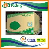 Brown Corrugated Carton Bins with Custom Logo