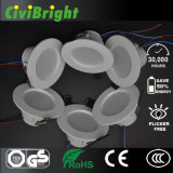 3W 2835 SMD LED Plastic LED Downlight with Ce / RoHS