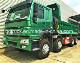 Low Price Good Condition Used HOWO Dump Truck 12 Wheels Tipper for Africa
