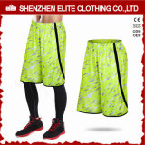 Newest Fashionable Men′s Popular Soccer Shorts Green (ELTSSI-23)