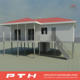 China Light Steel Structure Villa House Project