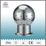 Sanitary Stainless Steel Clamped Fixed Cleaning Ball (DIN -NM120206)
