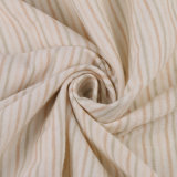 100% Cotton Organic Fabric Certificated Organic Textile with Stripe