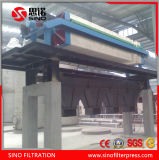 Manual Discharging Hydraulic PP Membrane Filter Press for Sludge Dewatering