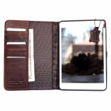Best Sale Handmade Retro Wallet Case Full Cover Leather Case for Apple iPad Mini 4 Air