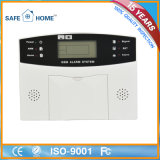 LCD Display Intelligent GSM Home Burglar Alarm with Factory Price
