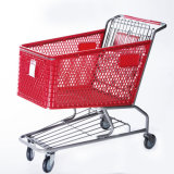 Supermarket Plastic Shopping Cart Trolley