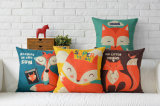 Cartoon Home Decor Personalized Hand-Painted Color Decorative Cushion