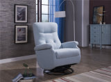 Baby Relax Swivel Gliding Recliner Microfiber Chair
