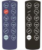 Custom Matrix Gloss Membrane Control Panel for TV Controller, 3m468 Adhesive