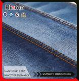 16s Twill 98%Cotton 2%Spandex Denim Fabric 8oz Dark Color