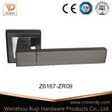 Door Hardware Zinc Lock Furniture Handle on Square Rostte (Z6167-ZR13)