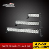 Waterproof Single Row CREE LED Light Bar for Offroad