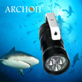 Archon 2000lm CREE LED Diving Flashlight Scuba Torch Lamp