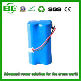 High Quality Customized 2s2p 4000mAh7.4V Battery Pack for Wireless Monitor