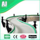 Food Industry Curved Modular Belt Conveyor