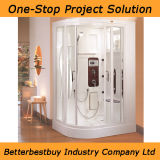 Sanitary Ware Sauna Steamroom/Steam Shower with MP3