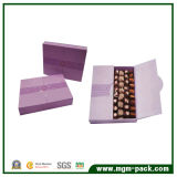 Purple Paper Chocolate Packing Box with Double Lids