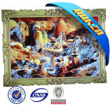 Framed Wholesale of 3D Pictures for Decoration