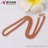Xuping Fashion Rose Gold Color Luxury Wide Necklace (42518)