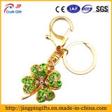 Custom Clover Promotion Metal Key Chain with C-22 Key Ring Accessory