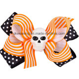 Hair Clips Halloween Ribbon Hair Bows Hair Clip