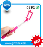Handheld Monopod Wired Extendable Smartphone Selfie Stick