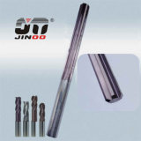 Customized Carbide Straight Flutes End Mill Reamer