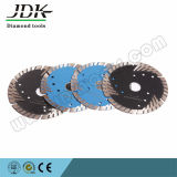 Protectional Teeth Turbo Cutter for Granite Marble Sandstone Concrete