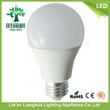 A60 E27 PC+Aluminum +PC Housing LED Lighting Bulb