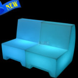 Home LED Plastic Module Sectional Sofa