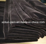 100% Polyester Knitted Plain Dyed Flocking Fabric
