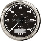 Sq 85mm GPS Speedometer 30 Knots with Compass 12V 24V