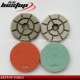 D80mm Dry/Wet Polishing Pad for Concrete, Granite and Marble Grinding