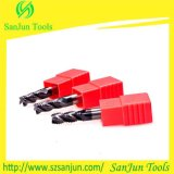 Tungsten Solid Used Carbid Square End Milling Cutter