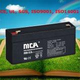 6V Rechargeable Battery Lead Acid Battery Energy Storage Batteries 3.3ah