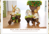 Lovely Bunny Rabit Small Plastic Candy Containers for Easter Day