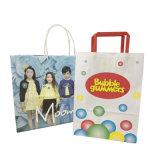 Christmas Washable Paper Bag Handle Bag Grocery Handle Bag Gift Bag