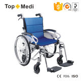 Topmedi High End Aluminum Manual Wheelchair with Carrying Wheel