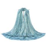 100% Polyester Trees Texture Style Large Scarf